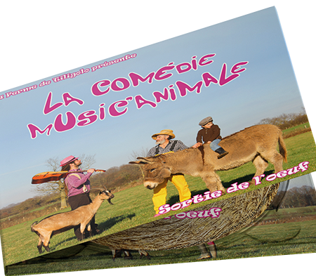 Premier CD de la Comédie Music'Animale